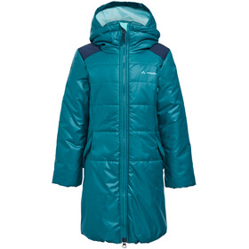 VAUDE Greenfinch Coat Girls petroleum